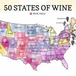 50 States Of Wine (Map)   Wine Folly - Florida Winery Map