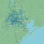 5,500 Route Mile Fiber Optic Network Houston Texas   Texas Fiber Optic Map