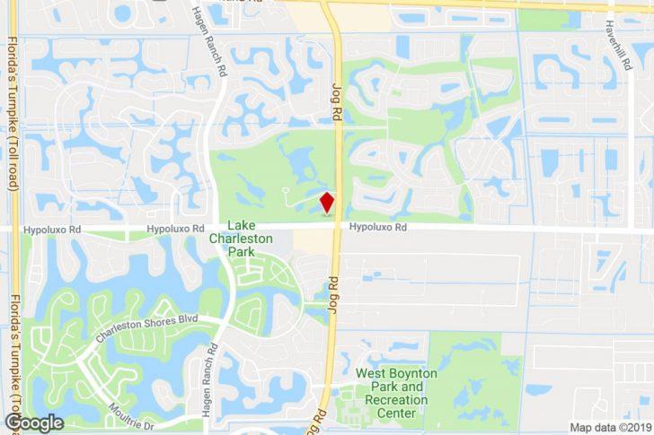 Lake Worth Florida Map