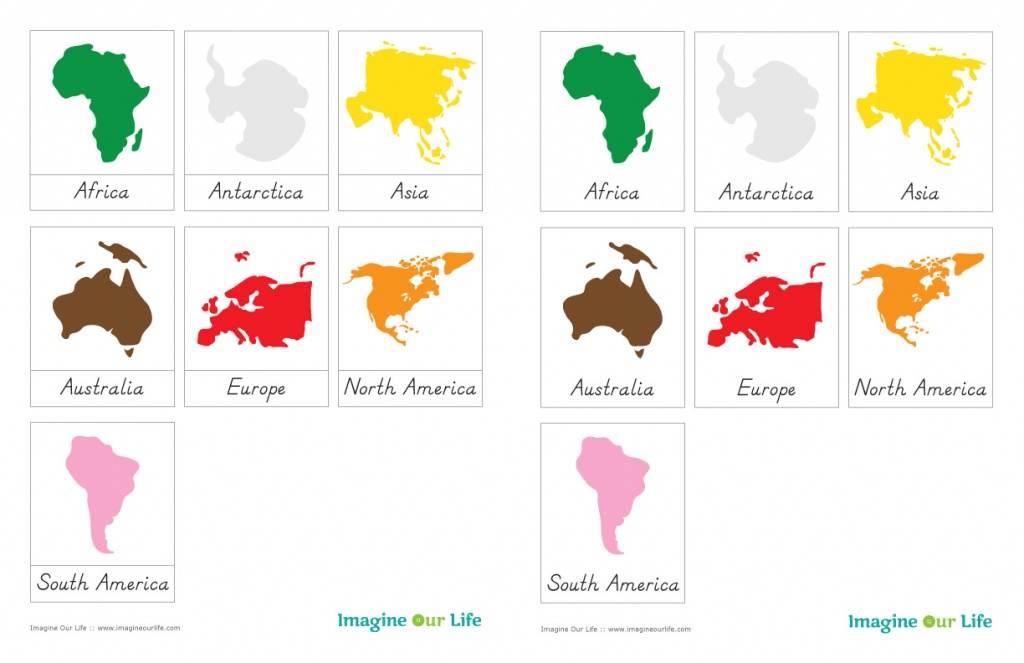 7 Continents Coloring Page | Free Download Best 7 Continents - Seven Continents Map Printable