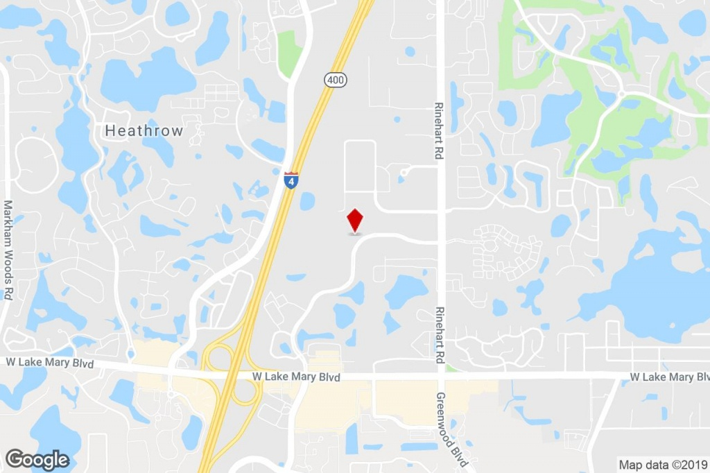 744 Primera Blvd, Lake Mary, Fl, 32746 - Property For Lease On - Map Of Lake Mary Florida And Surrounding Areas