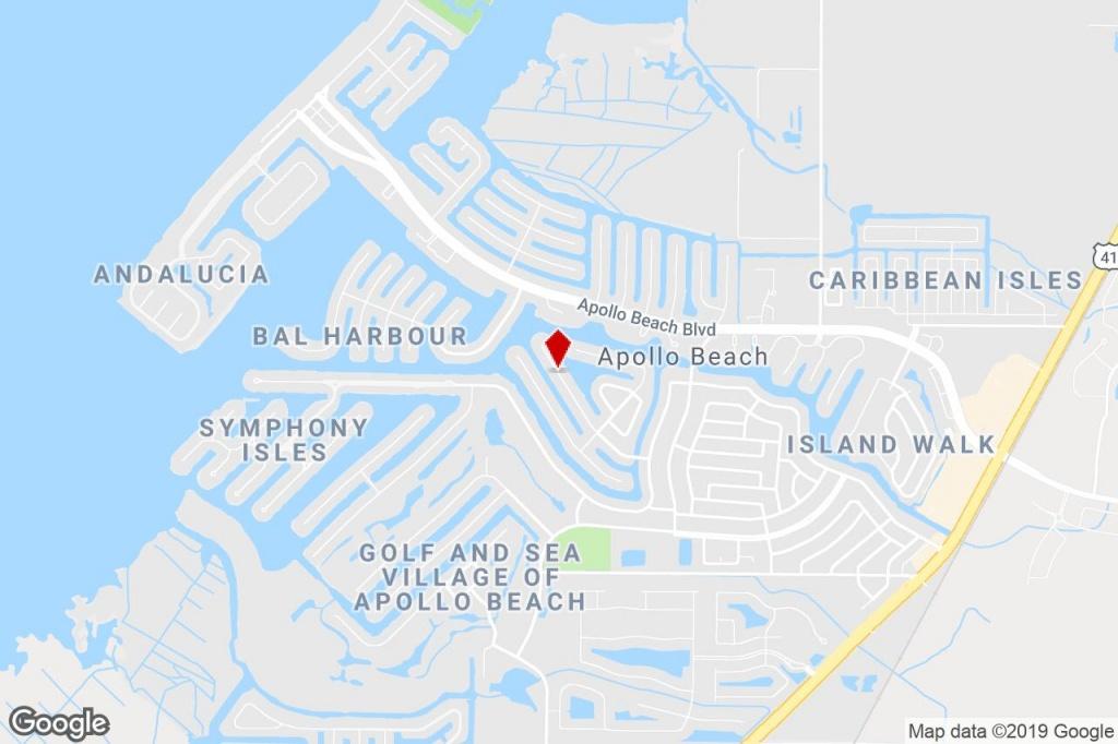 768 Gran Kaymen Way, Apollo Beach, Fl, 33572 - Multifamily (Land - Map Of Florida Showing Apollo Beach