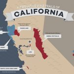 8 Alternative Wine Trails Of California | Wine Folly   California Wine Trail Map