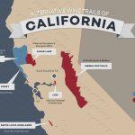 8 Alternative Wine Trails Of California | Wine Folly - California Wine Trail Map