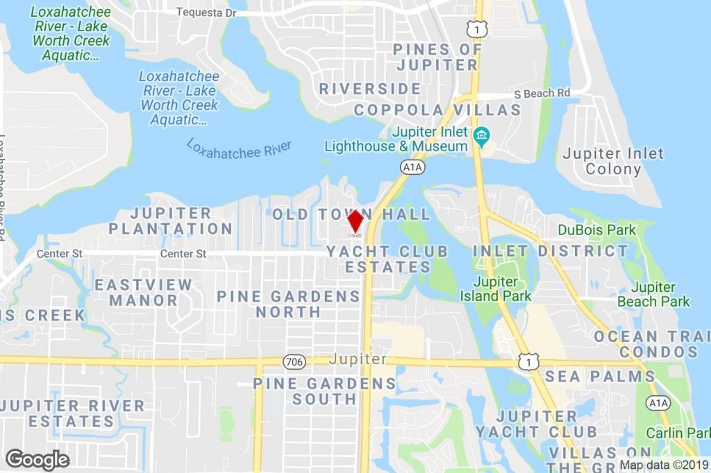 935 Townhall Ave, Jupiter, Fl, 33458 - Loft/creative Space Property - Jupiter Island Florida Map