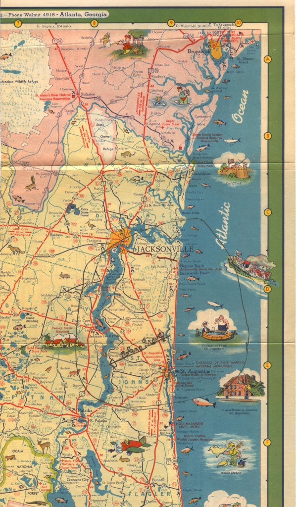 A Delius Picture Gallery - Old Florida Road Maps