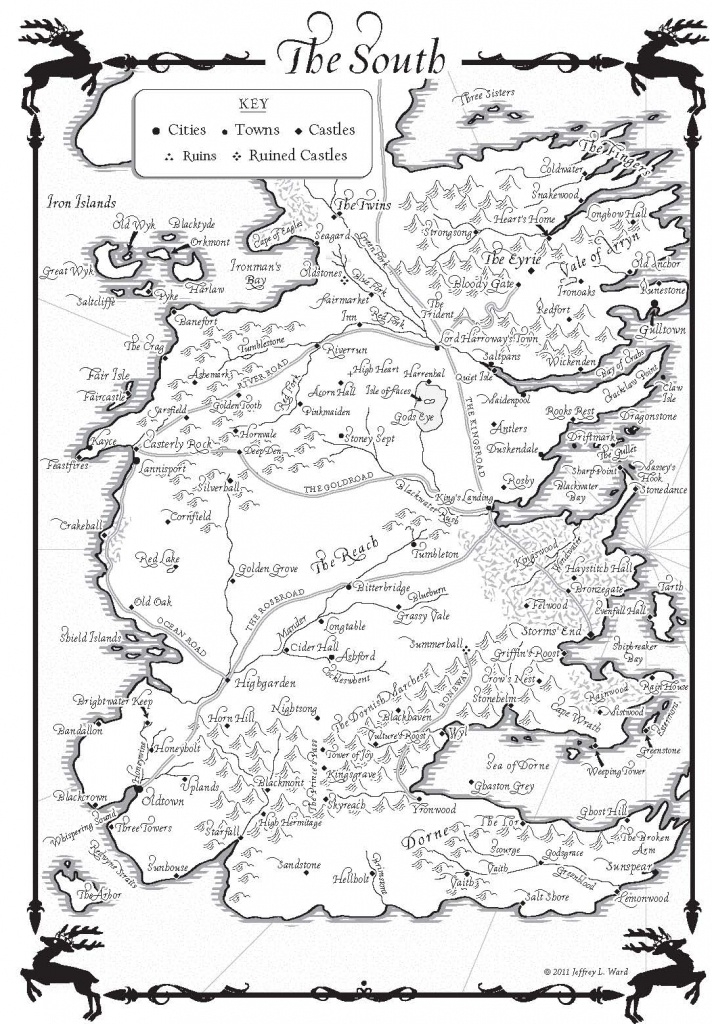 A Game Of Thrones – Maps - Random House Books - Game Of Thrones Printable Map
