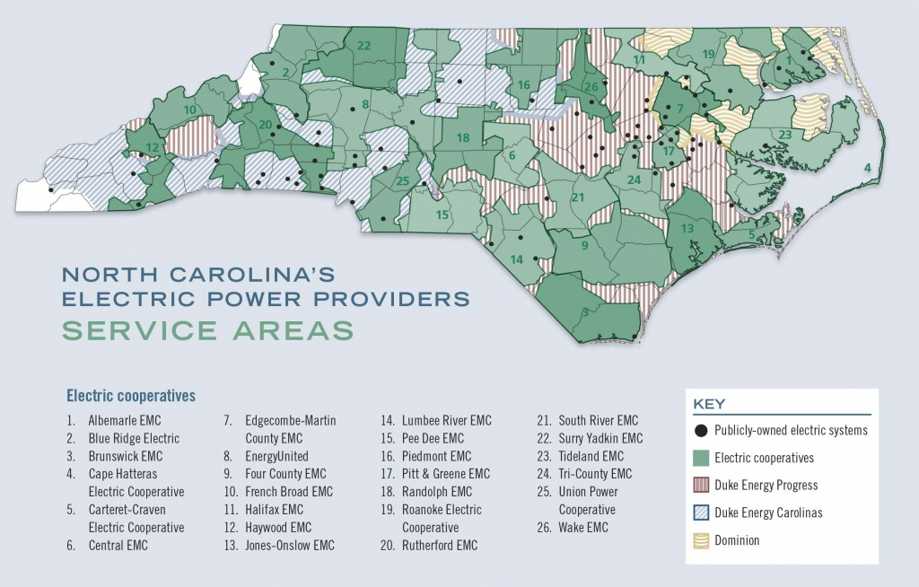 A Guide To North Carolina's Electric Power Providers - Carolina Country - Duke Energy Transmission Lines Map Florida