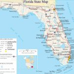 A Large Detailed Map Of Florida State | For The Classroom In 2019   Map Of Florida Coast Beaches