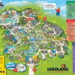 A Map Of Legoland California | Legoland California Resort; Carlsbad   Legoland Map Florida