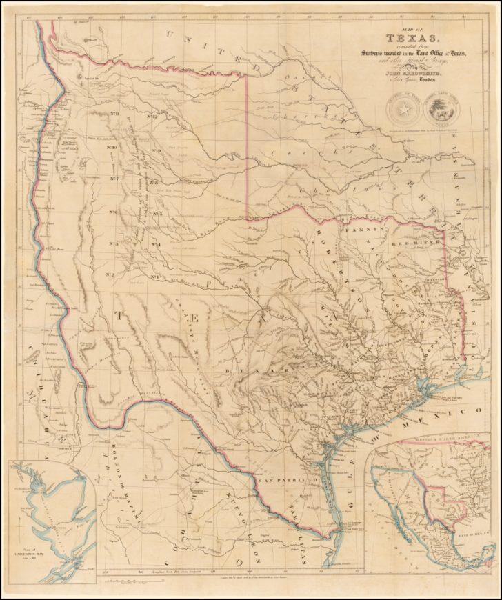 Texas Survey Maps