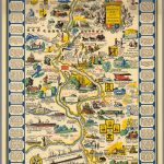 A Romance Map Of The Niagara Frontier   David Rumsey Historical Map   Printable Map Of Niagara On The Lake
