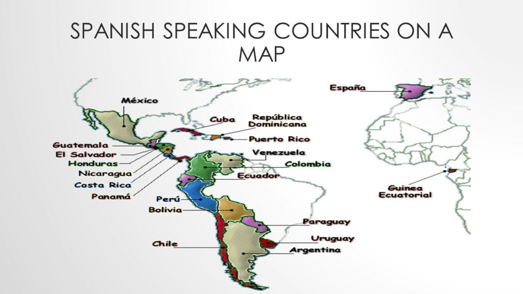 Aaccbdaacbceda Printable Maps Spanish Speaking World Map At - Printable Map Of Spanish Speaking Countries