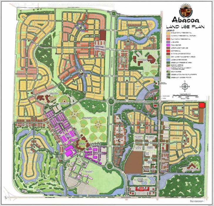 Abacoa Florida Map