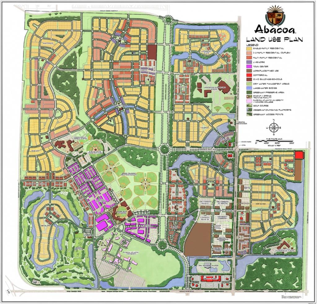 Abacoa — Gentile Glas Holloway O'mahoney & Associates - Abacoa Florida Map