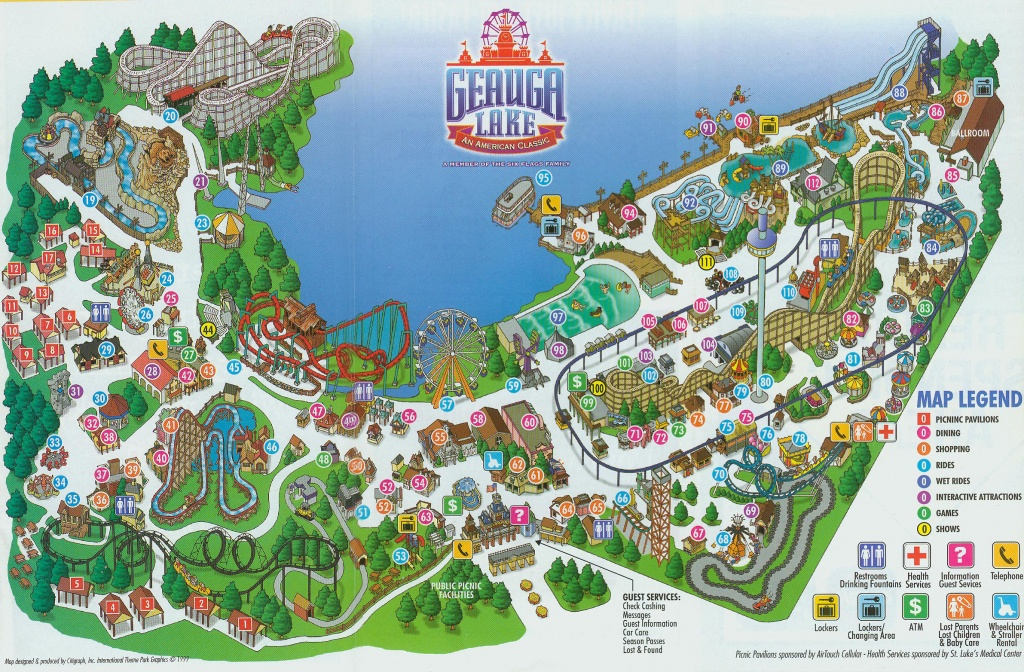 Abandoned: Inside The Epic Life And Closure Of The World's Largest - Six Flags New England Map Printable