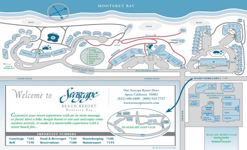 About Seascape   Resort Map - Seascape Resort Destin Florida Map