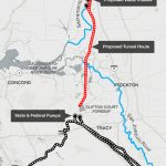About That $17 Billion Water Project: Delta Tunnels 101 | Election   California Aqueduct Fishing Map