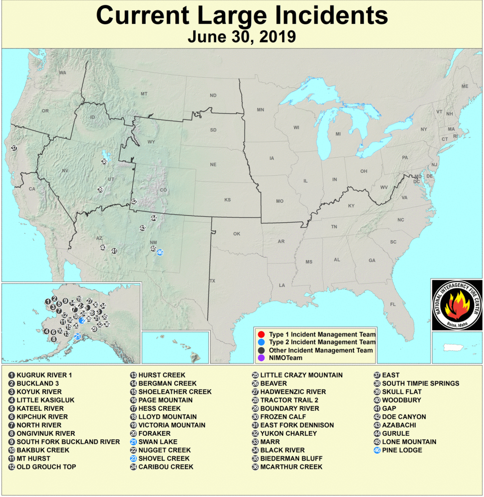 Active Fire Mapping Program - Active Fire Map California