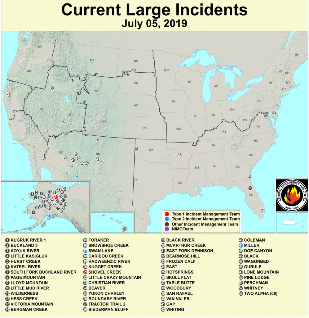 Active Fire Mapping Program - Active Fire Map For California