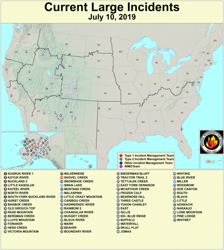 Active Fire Mapping Program - California Mountain Fire Map