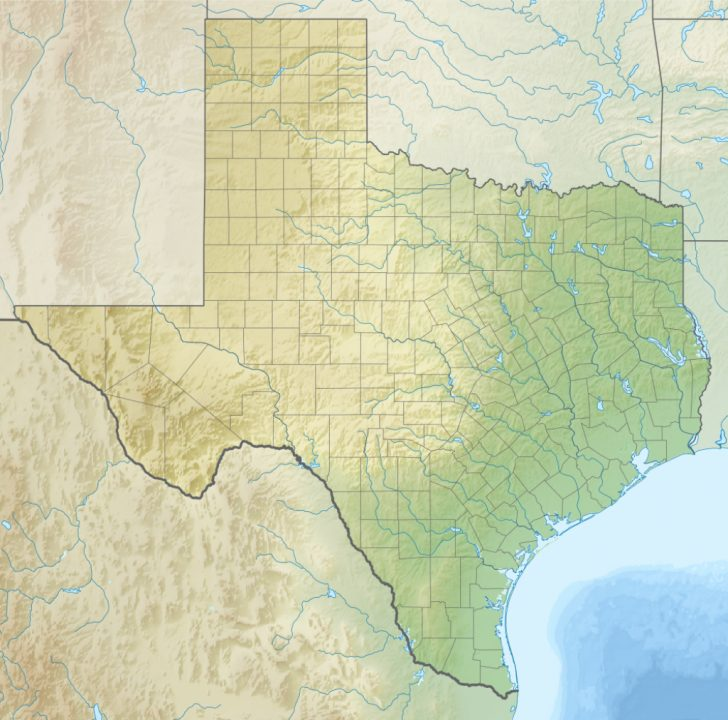 Adobe Walls Texas Map
