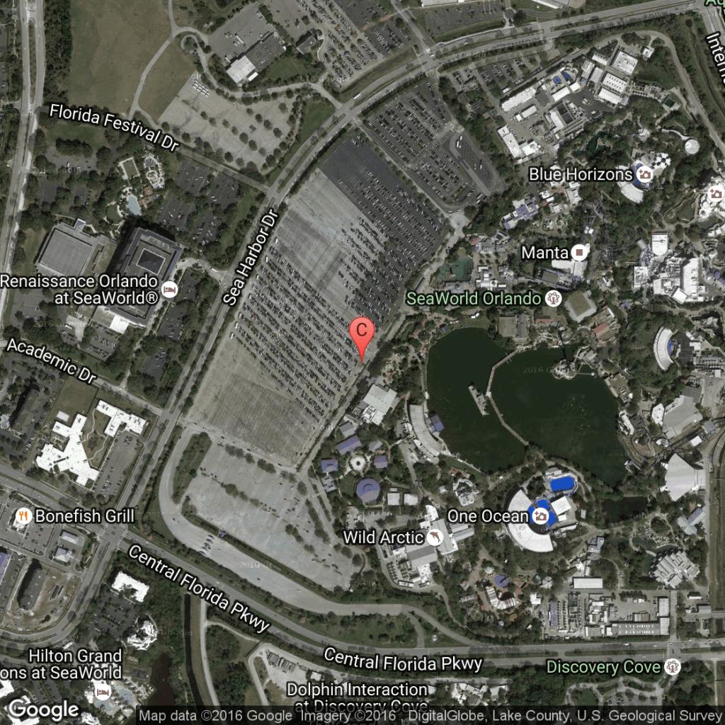 Advice On Sea World In Orlando | Usa Today - Florida Sea World Map