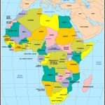 Africa Political Map 2017 - Maplewebandpc - Printable Political Map Of Africa