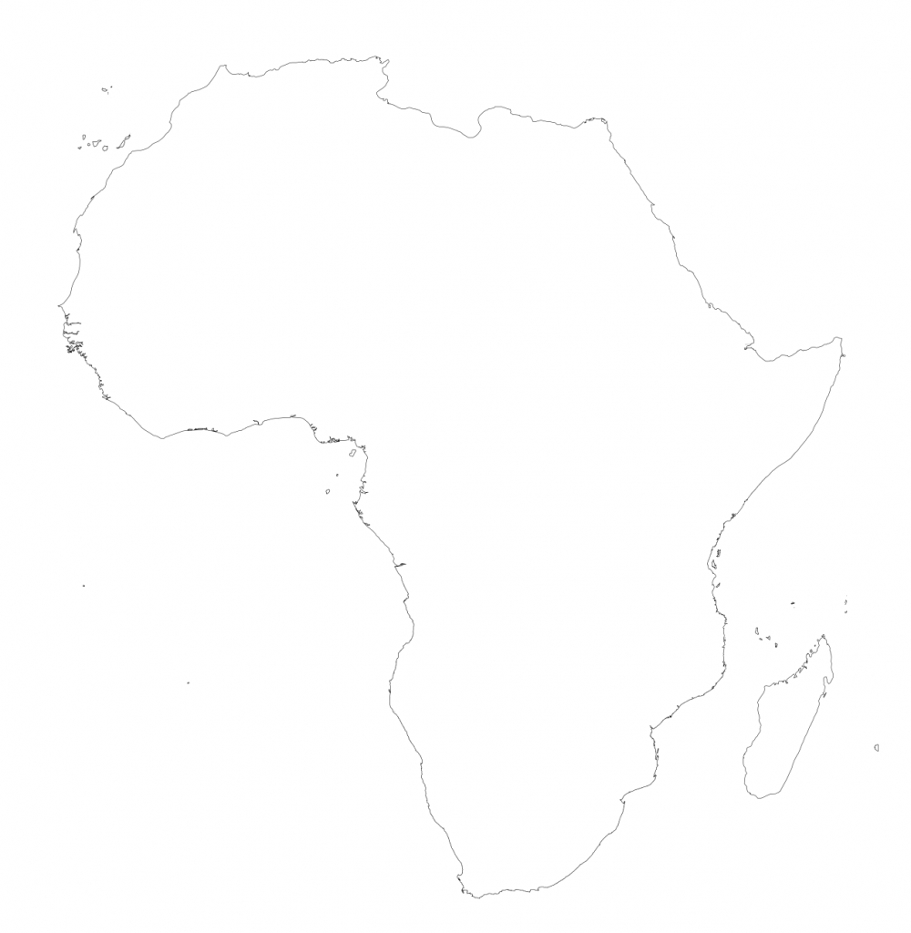 Africa – Printable Maps –Freeworldmaps - Printable Blank Map Of Africa