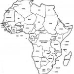 African Map Quiz Printable Blank Of Africa Fill In   Africa Map Quiz Printable