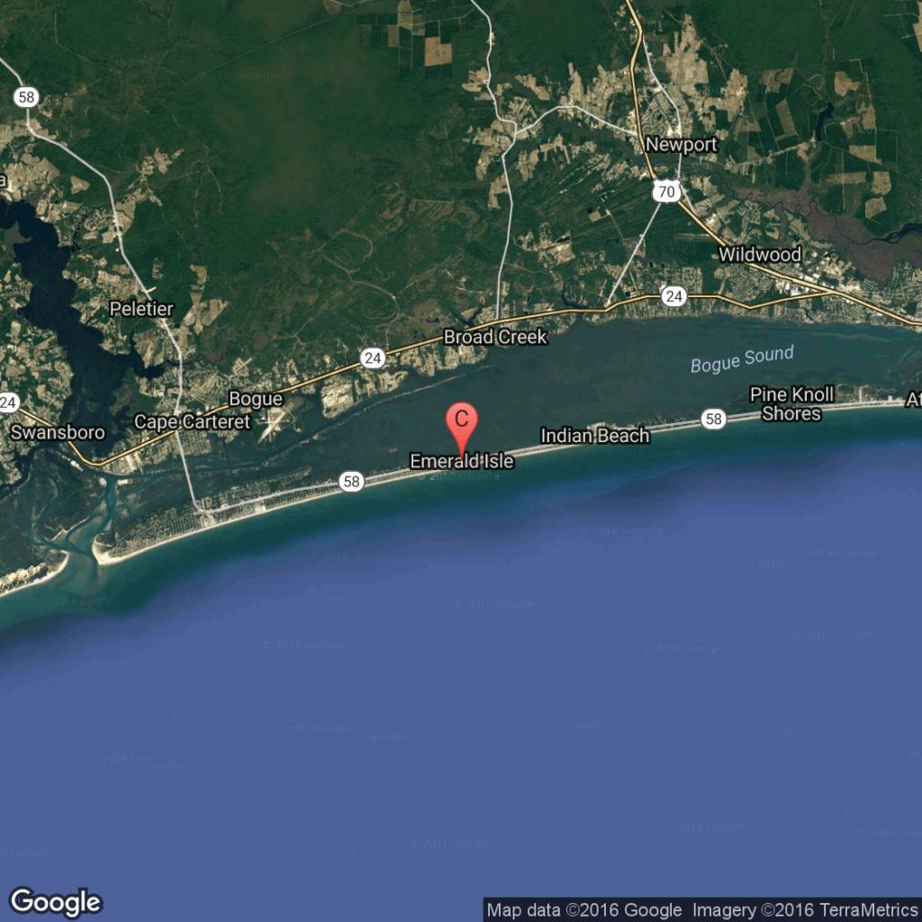 Airports Near Emerald Isle, North Carolina | Usa Today - Emerald Isle Florida Map