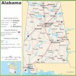 Alabama Highway Map   Printable Map Of Alabama