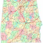 Alabama Printable Map   Printable Map Of Alabama
