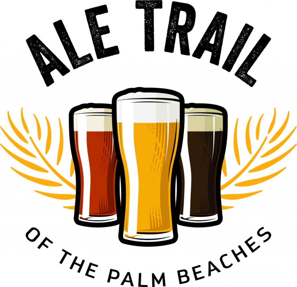 Ale Trail Of The Palm Beaches | The Palm Beaches Florida - Central Florida Ale Trail Map