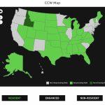 Alien Gear Holsters   Florida Ccw Reciprocity Map 2017