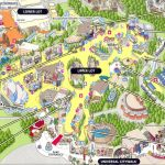 Although Progressed Regular Straight Attach Past Lowest Highest Over   Universal Studios Map California 2018