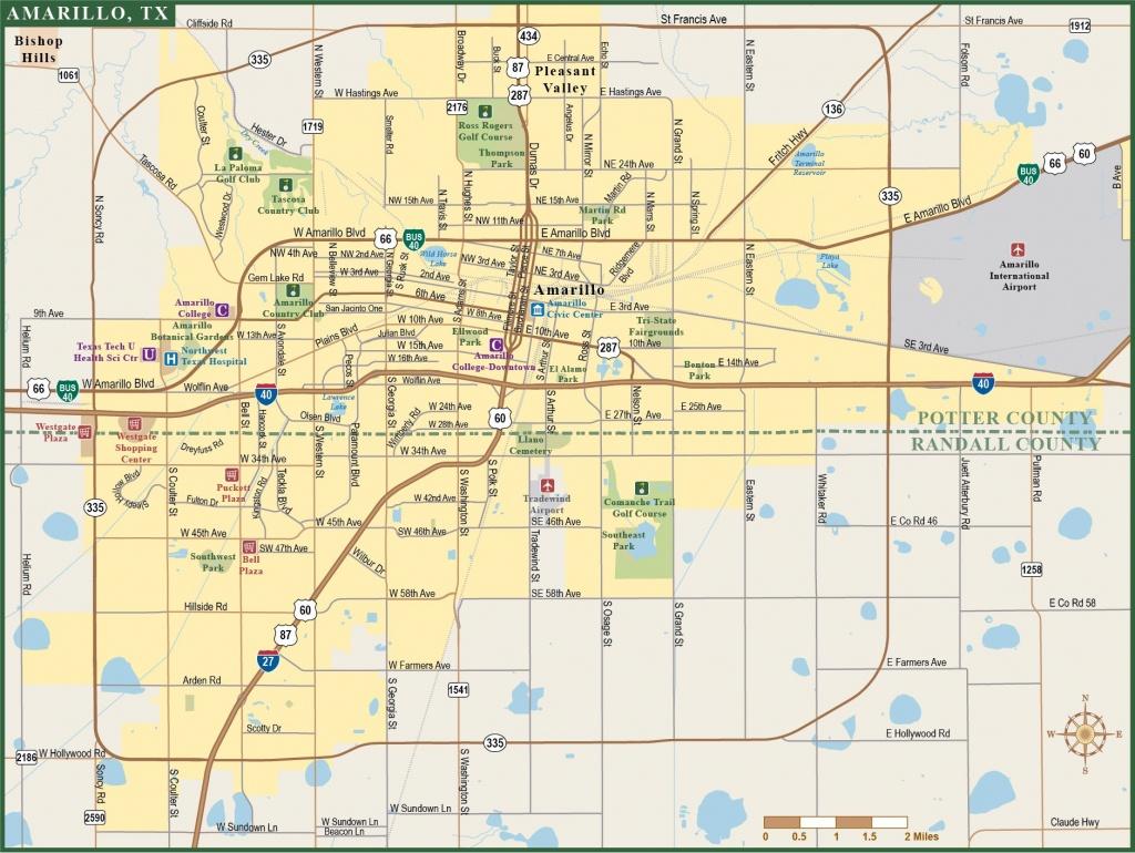 Amarillo Metro Map1 15 Amarillo Texas Map | Ageorgio - City Map Of Amarillo Texas