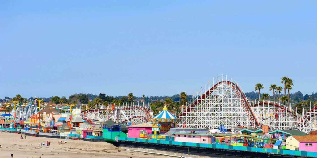 Amazing Theme Parks   Visit California - Amusement Parks California Map
