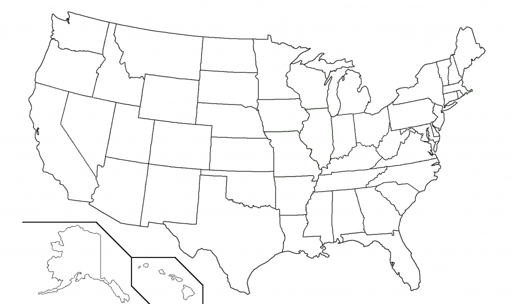 America State Map Quiz 50 States Inspiring World Us Lovely Blank For - 50 States Map Blank Printable