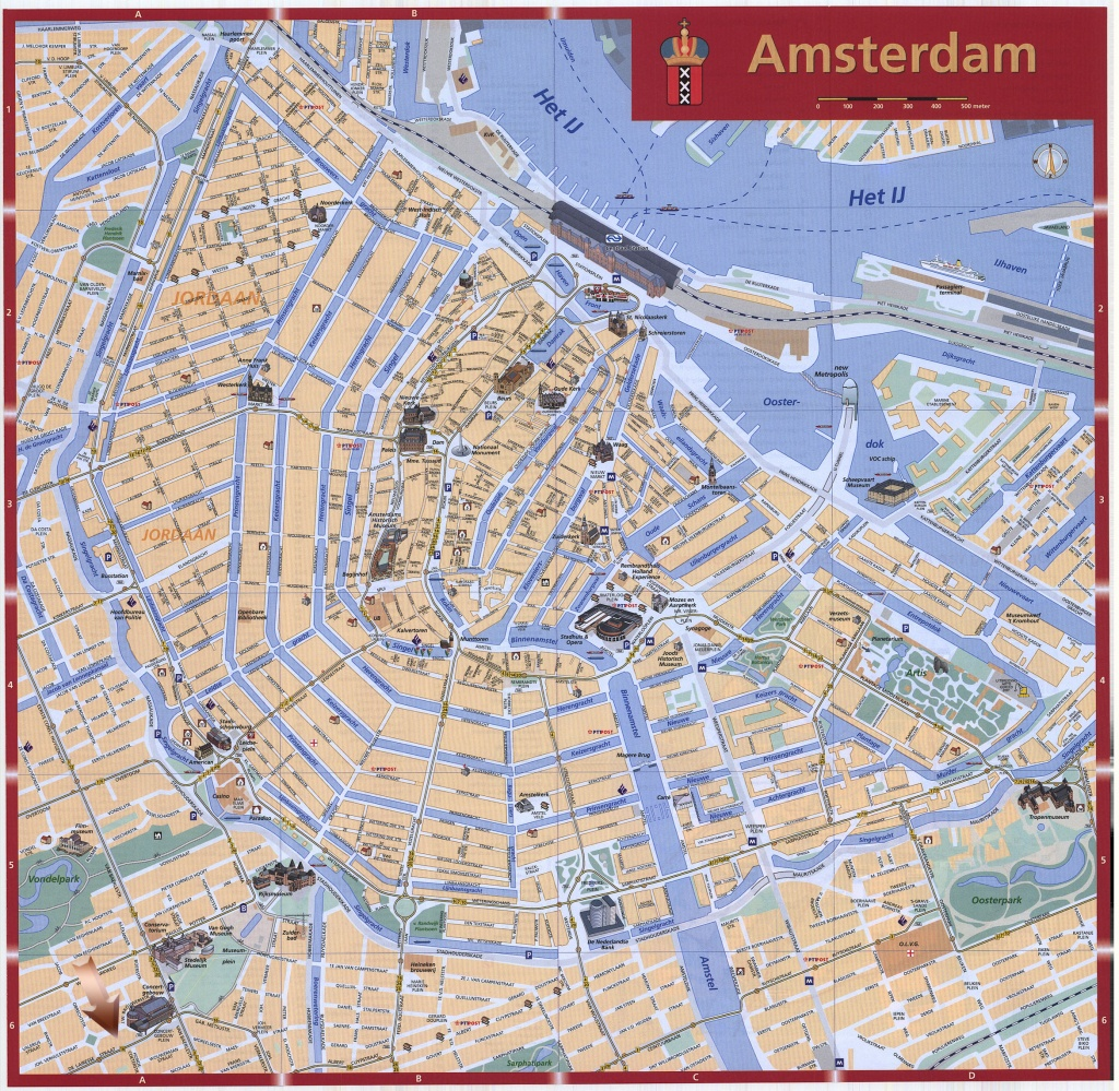 Amsterdam Map - Detailed City And Metro Maps Of Amsterdam For - Printable Map Of Amsterdam