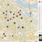 Amsterdam Printable Tourist Map   Sygic Travel   Tourist Map Of Amsterdam Printable