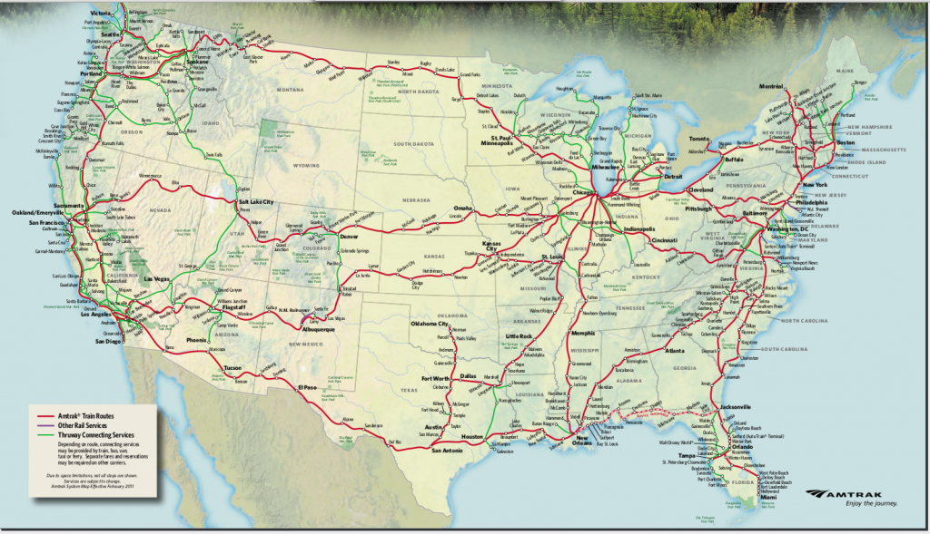 Amtrak Train Routes Map | Galleries Related: Amtrak Train Routes And - Map Of Amtrak Stations In Texas