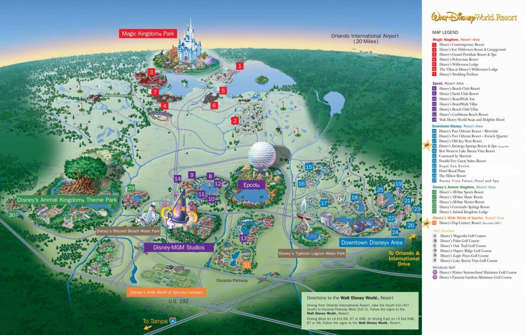 Amusement Park Reviews Including Theme Parks, Roller Coasters And - Map Of Amusement Parks In Florida