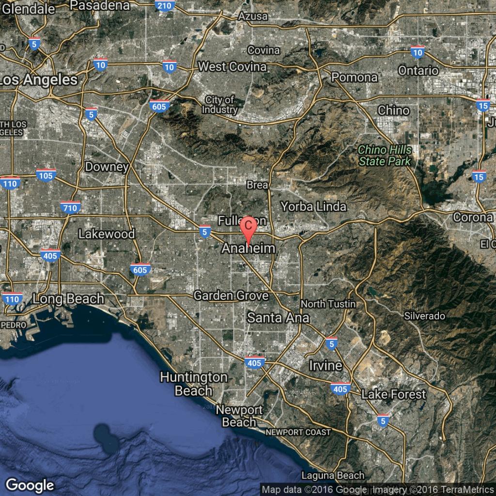Anaheim, California, Tourist Attractions | Usa Today - Map Showing Anaheim California