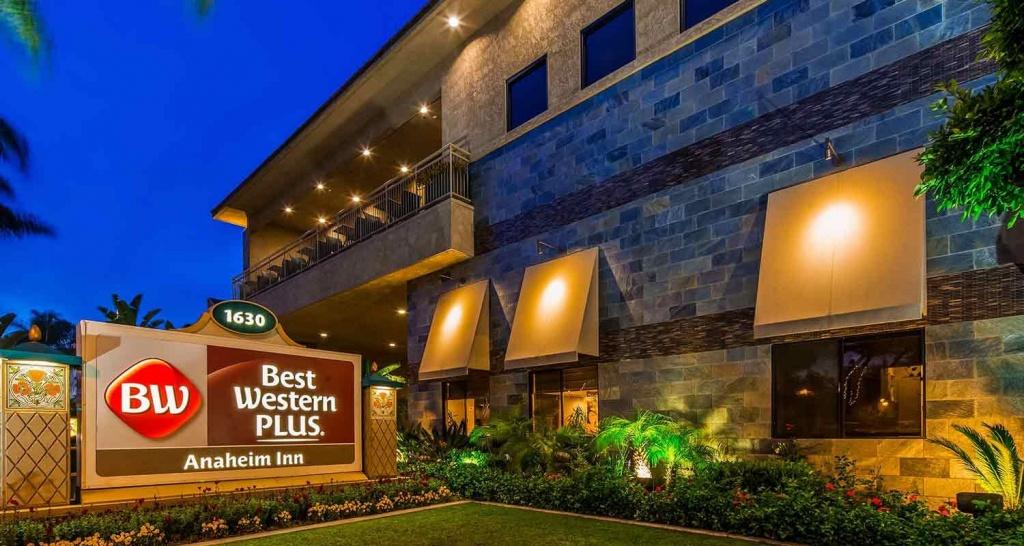 Anaheim Hotel Near Disneyland - Best Western Plus Anaheim Inn - Map Of Best Western Hotels In California