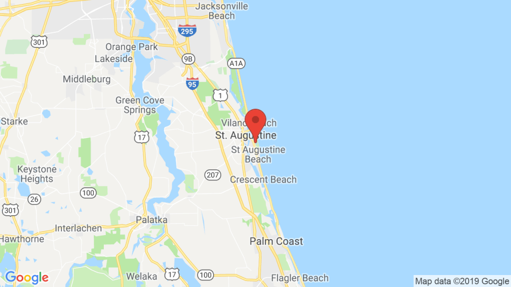 Anastasia State Park - Campsite Photos And Camping Info & Reservations - Map Of Crescent Beach Florida