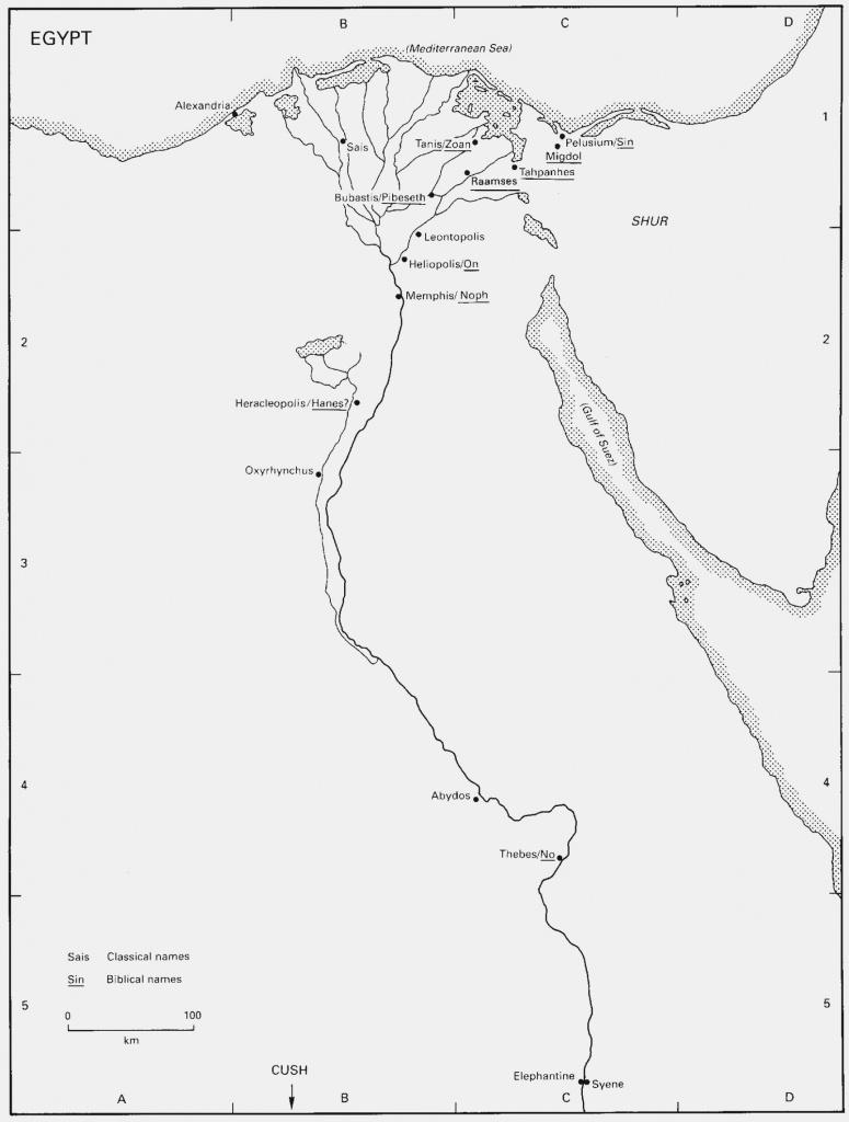 Ancient Egypt Maps Printables | Kurashiconcier – Label Maker Ideas - Ancient Egypt Map Printable
