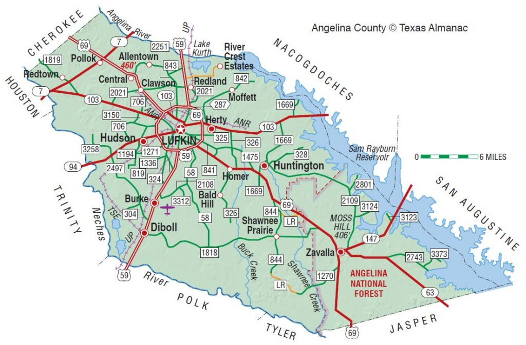 Angelina County   The Handbook Of Texas Online  Texas State - Google Maps Lufkin Texas