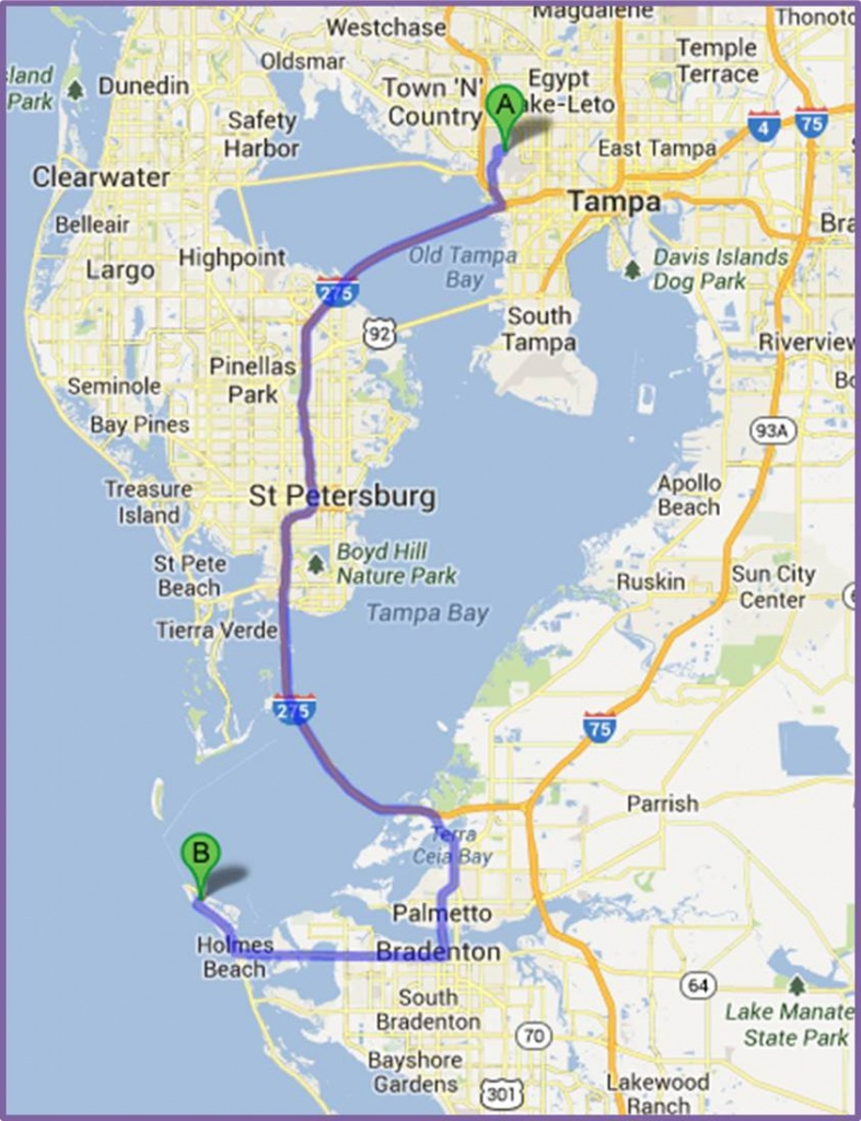 Anna Maria Island Maps - Florida Map Directions