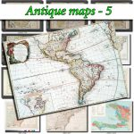Antique Maps 5 Collection Of 147 Large Size Images Printable Old   Printable Old Maps